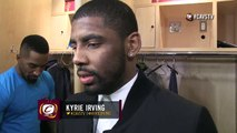 Postgame- Kyrie Irving - Clippers vs Cavaliers - February 5, 2015 - NBA Season 2014-15