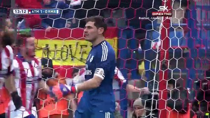 Atletico Madrid 4-0 Real Madrid 07.02.2015 goals and highlights HD