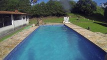 Creative Commons - Pulo e Mergulho na piscina 02 (Jump and dive in the pool 02)
