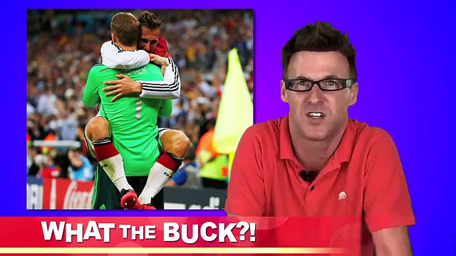 GERMANY WINS! MEN KISS!!! – 2014 WORLD CUP