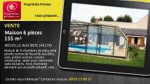 A vendre - maison - NEUVILLE AUX BOIS (45170) - 6 pièces - 155m²