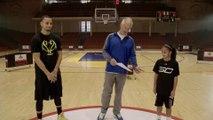 Le champion de NBA Stephen Curry battu par une fille de 10 ans dans un concours de 3 points