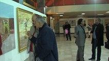 Le vernissage de l'exposition de l'artiste peintre et chirurgien plasticien, Aadil Rachid a eu lieu vendredi soir 6 février 2015 au Théâtre national Mohammed V de Rabat.
