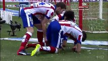 Antoine Griezmann 3-0 - Atletico Madrid - Real Madrid 07.02.2015 HD