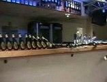 Beer Bottle Dominos | Funny Videos
