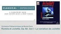Serge Prokofiev : Roméo et Juliette, Op. 64 : Act I - La variation de Juliette