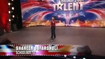 Shaheen Jafargholi Britains Got Talent 2009 Show 2