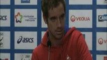 TENNIS - MONTPELLIER: Gasquet «En confiance, c'est l'un des meilleurs joueurs du monde»