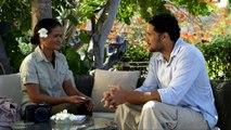 Les coulisses du tournage du film Au large d'une vie, le court métrage tourné à Tahiti