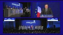 François Fillon au conseil national de l'UMP