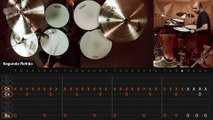 Feel Good Inc. - Gorillaz (drum lesson - aula de bateria)