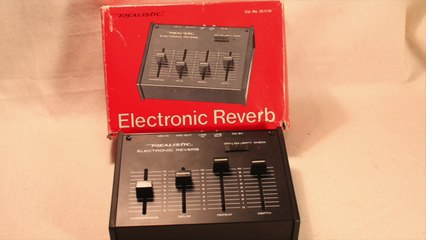 Realistic Electronic Reverb (BBD Delay) Effect Demo