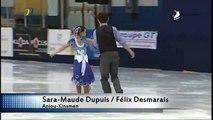 Sara‐Maude Dupuis / Félix Desmarais - Pré-juvénile Danse A Danse libre (REPLAY)