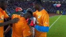 Les larmes d'André Ayew après la défaite du Ghana au tab CAN 2015