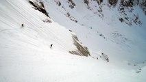 Col des Pèlerins Couloir Sud Ouest Chamonix Mont-Blanc alpinisme ski de randonnée