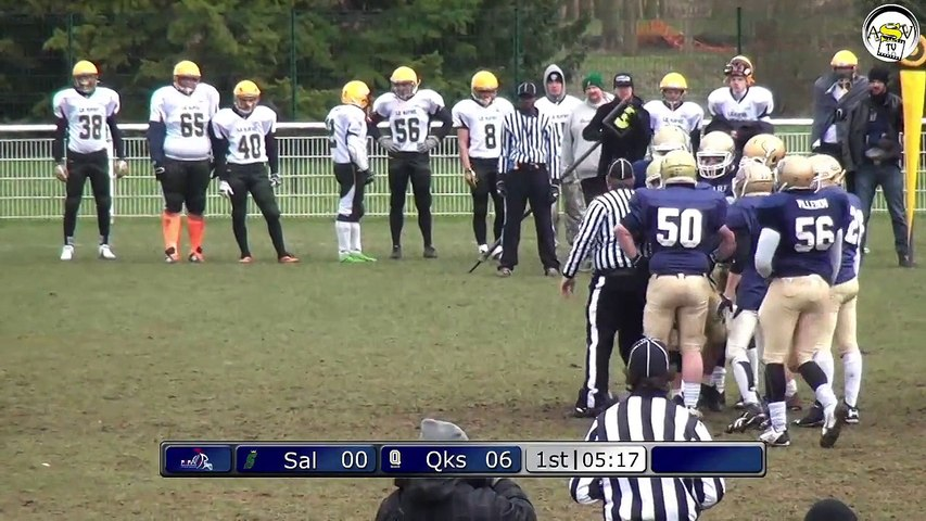 ASVTV - Foot US - Quarks vs Salamandres - D3 - 8 Fev. 2015