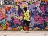 ► NEW KNEE AKKA MOVES ◄ STREET SOCCER SKILLS PANNA JUGGLING LEARN DRIBBLE TRICKS FOOTBALL GOAL