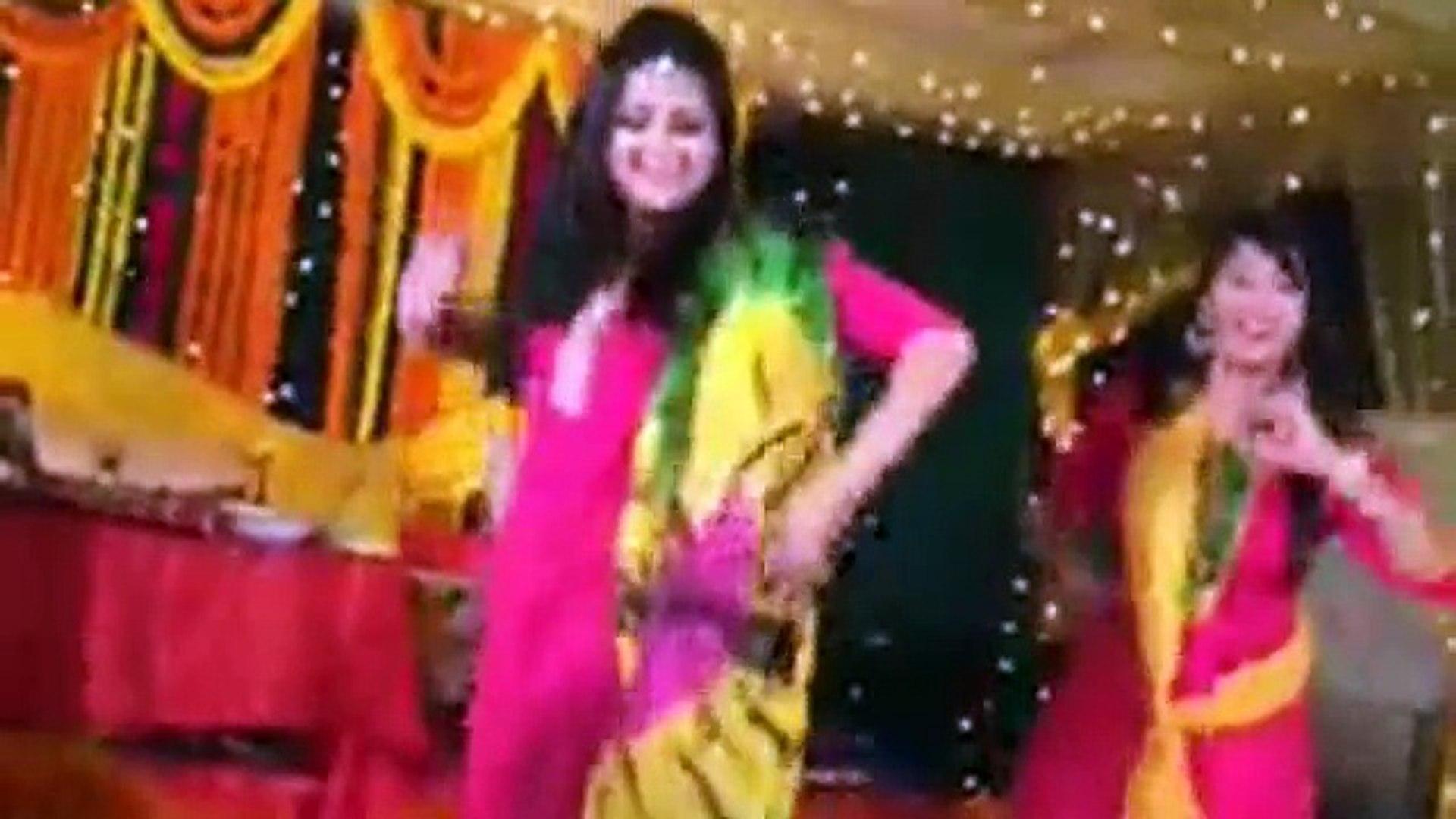 Indian Beautiful Girl -@- Indian Beautiful Girl Wedding Dance - O Teri Akhair Jawani - HD