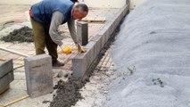 Adana Beton Ürünleri,Kilitli beton parke taşı, Beton Bordür Taşı, Yağmur Oluğu, Adana Kilitli Parke Taşı  Dekoratif beton parke ürünleri Beton Bordür döşemesi nasıl olur ?