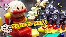 アンパンマン おもちゃ お風呂でも遊べるドミノ第16話 anpanman toys domino Animation