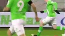 very nice football goal