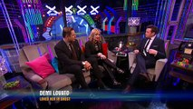 Demi Lovato and David Walliams compare notes on Simon Semi Final 3 Britains Got Talent 2013
