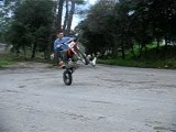 Session stunt chez Arno