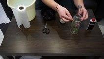 Tuto de la semaine : recycler des vieilles bouteilles en de supers verres