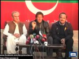Altaf Hussain does not come back to Pakistan out of fear - Imran Khan
