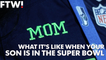 Seahawks' moms: What it's like when son is in the Super Bowl
