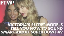 Victoria's Secret models give their keys to the Super Bowl