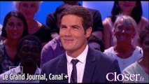 """Mathieu Gallet fait rougir Antoine de Caunes sur le plateau du """"Grand Journal"""""""