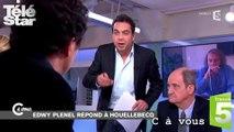 C à vous - Clash entre Patrick Cohen et Edwy Plenel  - Mardi 6 janvier 2015