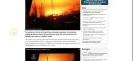Breaking!!!! tactical Nuclear Explosion in Ukraine Massive Explosion!!!