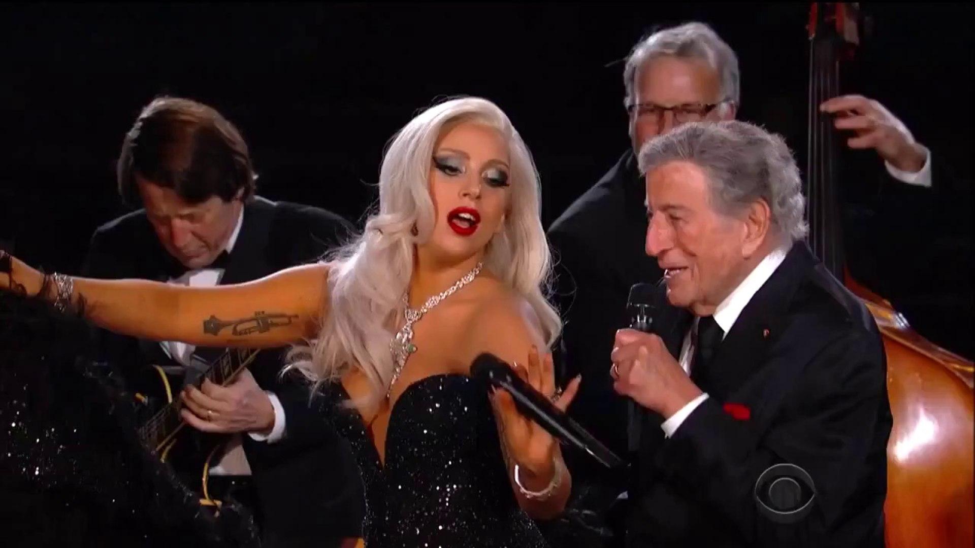 Tony Bennet + Lady Gaga - Cheek To Cheek - Grammy Awards 2015 HD 720p