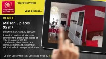 A vendre - maison - BRIENNE LE CHATEAU (10500) - 5 pièces - 95m²