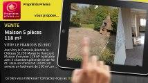 A vendre - maison - VITRY LE FRANCOIS (51300) - 5 pièces - 118m²