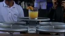A Restaurant In Singapore Is Now Using Drones As Waiters