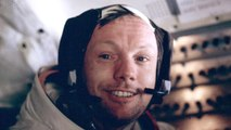 Neil Armstrong kept mementos from his famous walk on the moon