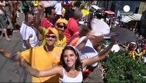 Le Brésil se mobilise contre le SIDA pendant le Carnaval de Rio
