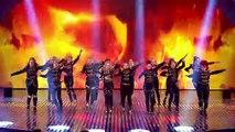 MD dance troupe strut their stuff Semi Final 2 Britains Got Talent 2013