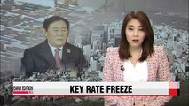 Korean key interest rate to stay unchanged :Finance minister