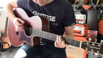 Tanglewood TW45 Electro Acoustic Guitar Short Demo | Guitarbitz Guitar Shop