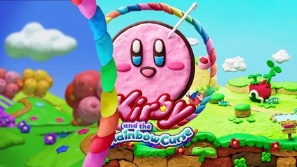 Kirby and the Rainbow Curse - TV Commercial de Kirby et le pinceau arc-en-ciel