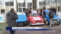 4 équipages de l'ESITC de Metz participent au 4L Trophy