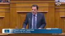 Ομιλία Γεωργαντά στη Βουλή για τις προγραμματικές δηλώσεις της Κυβέρνησης