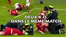 Un rugbyman victime de deux K.O. lors du tournoi des six nations
