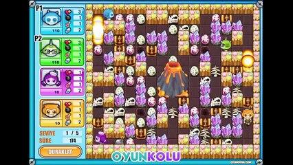 2 Kisilik Bomberman 4 Oyununun Oynanış Videosu
