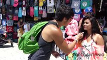 Kissing Prank - Dropping $100 to Kiss SEXY Girls (PRANKS GONE WRONG) - Funny Pranks 2015 (1)