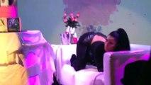Nicki Minaj ft Beyonce - FEELING MYSELF Live Performance and Sexy Dancing at Hot 97 VIP Lounge [HD]